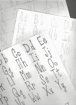 Caroline's font