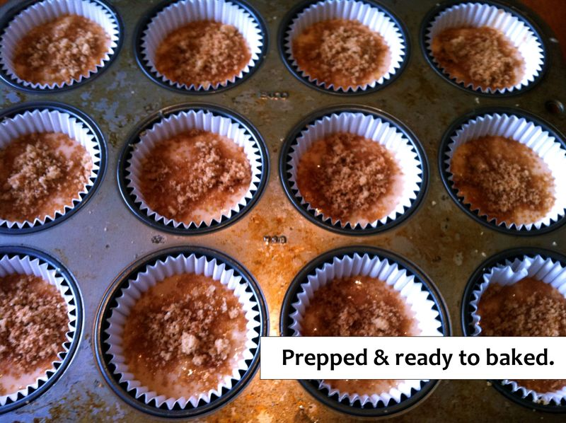 Apple muffins ready for the oven (blog)